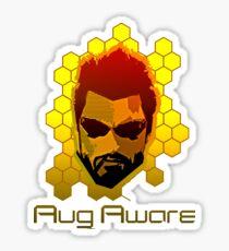 Aug Aware Sticker