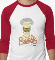 Royale with cheese Men's Baseball ¾ T-Shirt