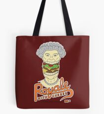 Royale with cheese Tote Bag