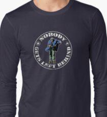 Nobody gets left behind - cookie monster version Long Sleeve T-Shirt