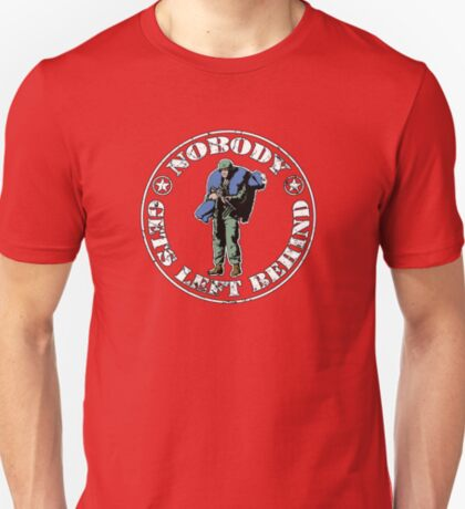 Nobody gets left behind - cookie monster version T-Shirt