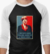 Prime Ministerial Propaganda Men's Baseball ¾ T-Shirt