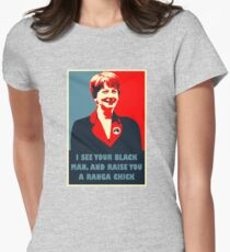 Prime Ministerial Propaganda Womens Fitted T-Shirt