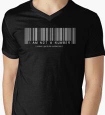not a number, unless.. Mens V-Neck T-Shirt