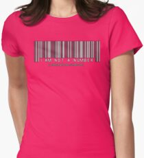 not a number, unless.. Women's Fitted T-Shirt