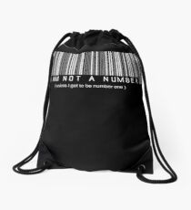 not a number, unless.. Drawstring Bag