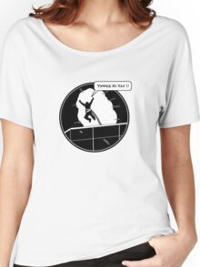 Yippee Ki Yay - with speech bubble Women's Relaxed Fit T-Shirt
