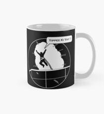 Yippee Ki Yay - with speech bubble Mug