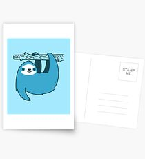 Sloth on a Branch Postcards