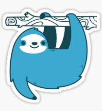 Sloth on a Branch Sticker
