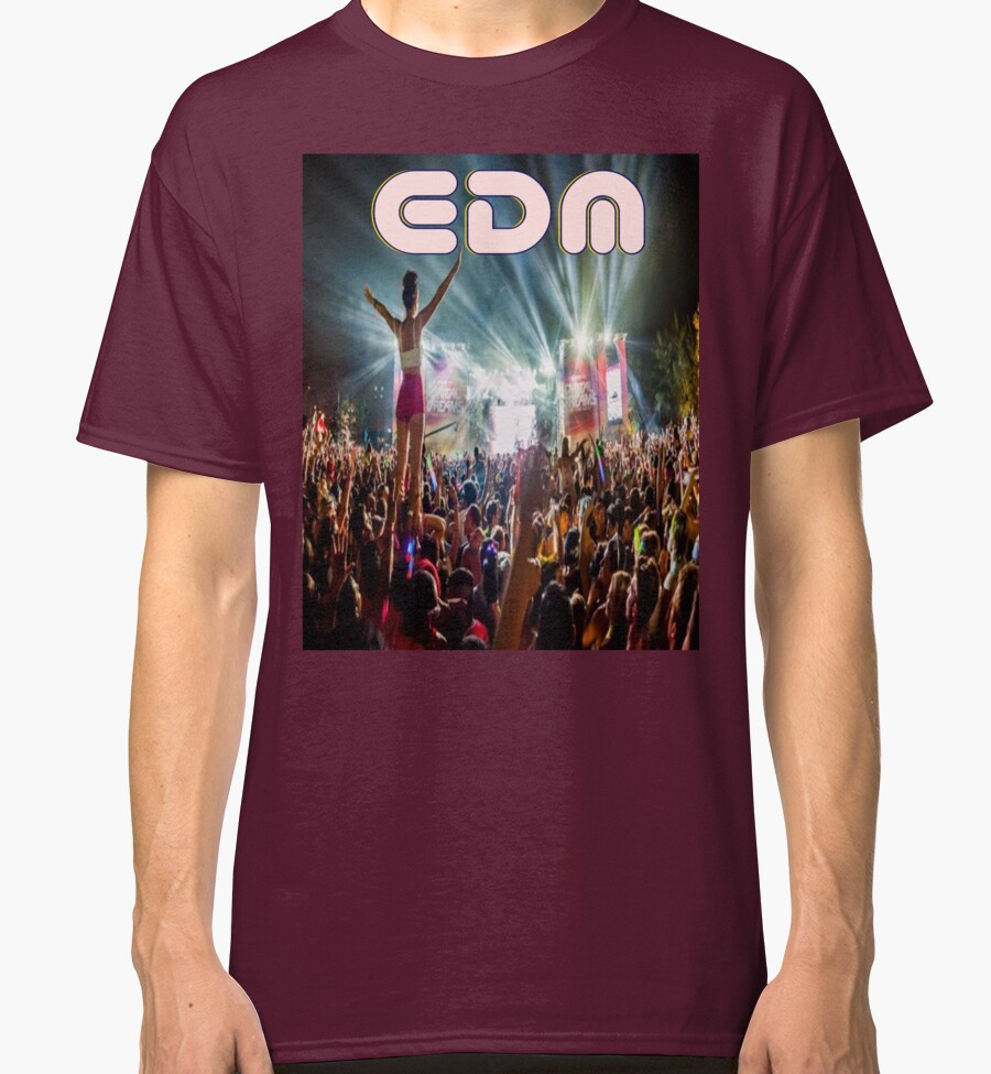 quot edm quot classic t shirts by northernsoulz redbubble
