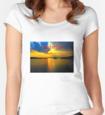 Beautiful Alabama Women's Fitted Scoop T-Shirt