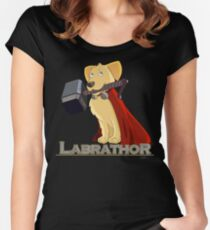 Labrathor Women's Fitted Scoop T-Shirt