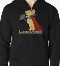 Labrathor Zipped Hoodie