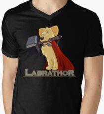 Camiseta para hombre de cuello en v Labrathor