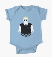 Here Come The Fuzz - Variant One Piece - Short Sleeve