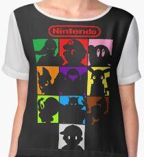 I'm a Nintendo Fan Women's Chiffon Top