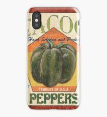 Americana Vegetables 1 iPhone Case/Skin