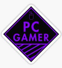 Pc Gaming (purple) Sticker