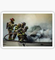 Fire Men Sticker