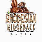 Rhodesian Ridgeback Lover by offleashart