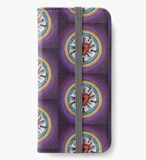 Luther's Rose - Purple iPhone Wallet