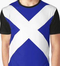 White Cross Graphic T-Shirt