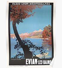Evian Les Bain - Ezra Poster