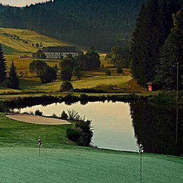 Summer morning at the golf club | landscape photography by patrickjobst