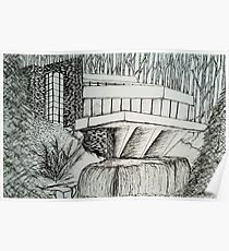 Frank Lloyd Wright: Falling Waters Poster