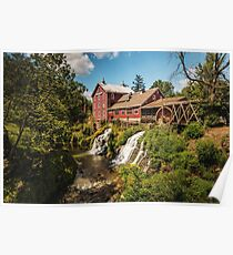 Clifton Mill, Ohio Poster