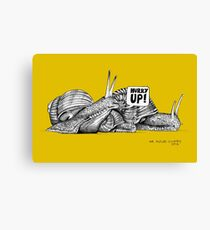 Alford Snails - Hurry Up Canvas Print