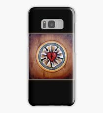 Luther's Rose - natural wood Samsung Galaxy Case/Skin