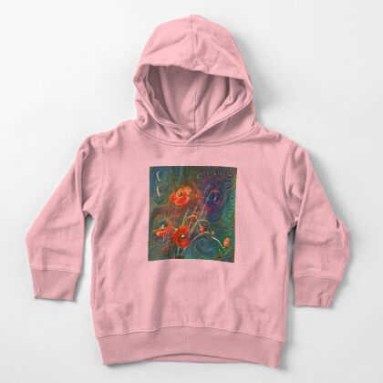 Poppies Toddler Pullover Hoodie
