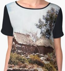 Thatched Homestead Women's Chiffon Top