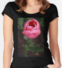 Pink Tulip Women's Fitted Scoop T-Shirt