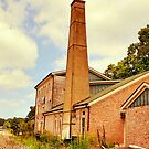 The Old Mill, Side View by Bob Hall©