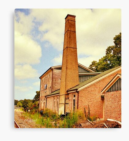 The Old Mill, Side View Canvas Print