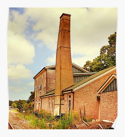 The Old Mill, Side View Poster