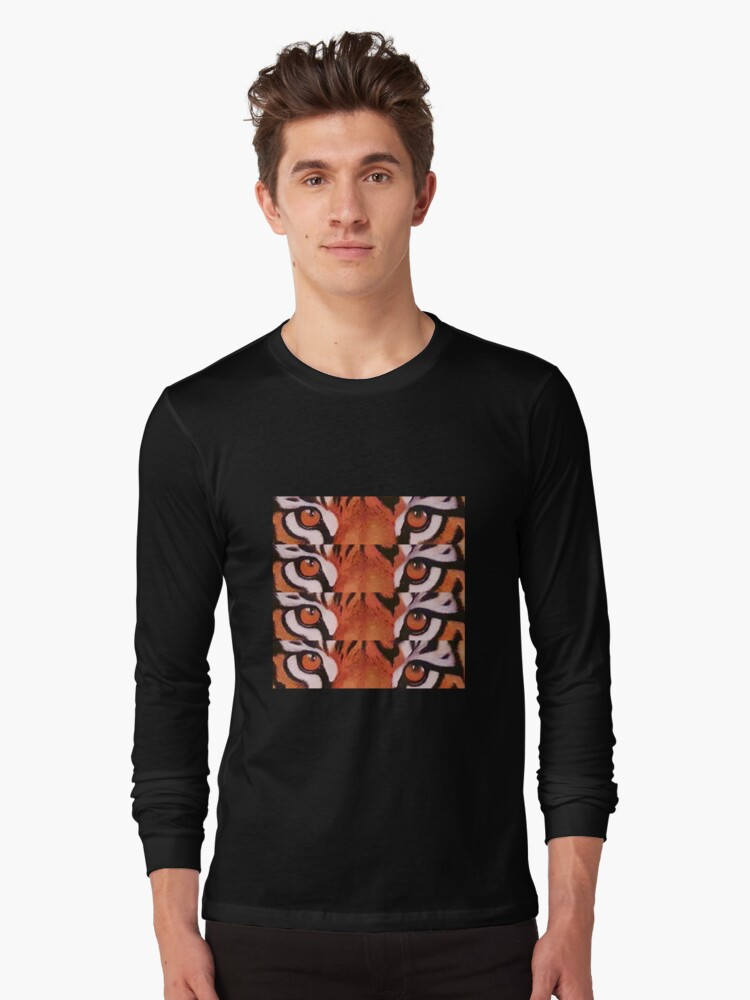 Eyes of the tiger  Long Sleeve T-Shirt Front