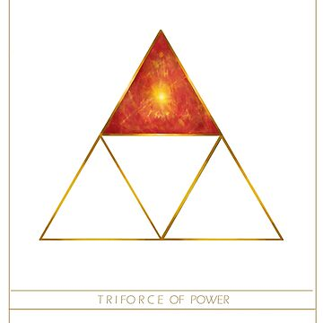 Triforce Designs - Din's Power Edition by ellie-ant