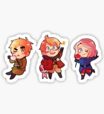 Hetalia Allies (Set 1) Stickers Sticker