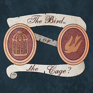 The Bird or the Cage? by KisaSunrise