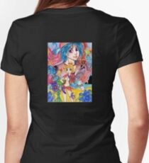 Another world, Another time Womens Fitted T-Shirt