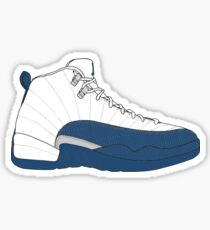 "Air Jordan XII (12) ""French  Blue"" Sticker"