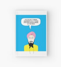 What under the Turban? Hardcover Journal