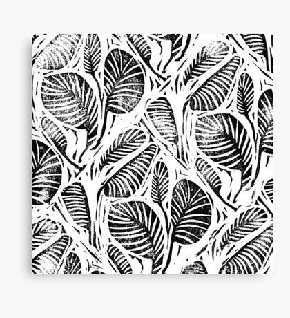 Jungle - Tropical leaves Canvas Print