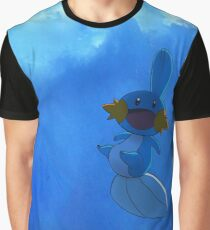 Happy Mudkip Graphic T-Shirt