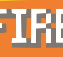 Fire Type Sticker