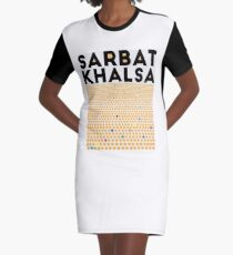 Sarbat Khalsa: Grand Gathering of Sikhs Graphic T-Shirt Dress